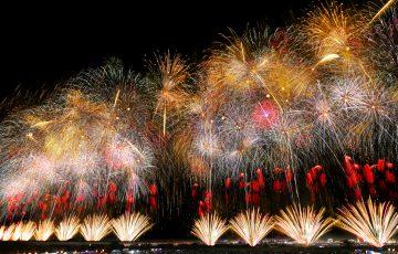 長岡花火の壁紙画像をWEB会議等の背景として使用しませんか?