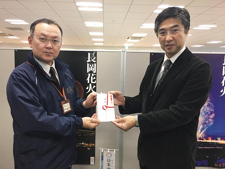 「金匠」を食べて長岡花火を応援!