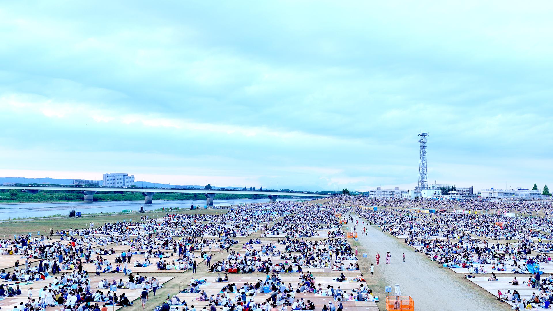 Nagaoka Fireworks State of the venue