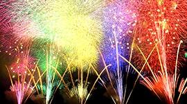 Nagaoka Fireworks -Super Grand Wide Star Mine Fireworks-