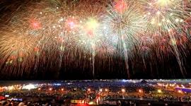 Nagaoka Fireworks -One Hundred Sacks of Rice-