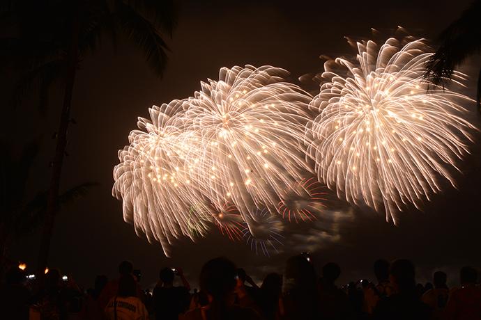 「長岡花火 in Honolulu」打ち上げ中止について