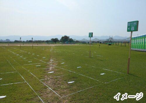 長岡花火 A会場【長岡駅側(右岸)】車いす席